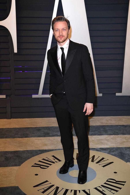 James McAvoyà l'after-party des Oscars à Los Angeles le 24 février 2019