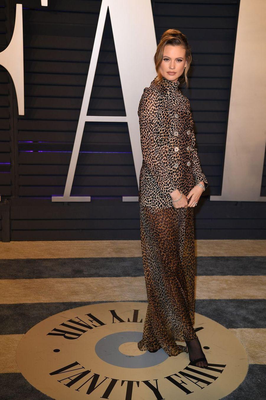 Behati Prinslooà l'after-party des Oscars à Los Angeles le 24 février 2019