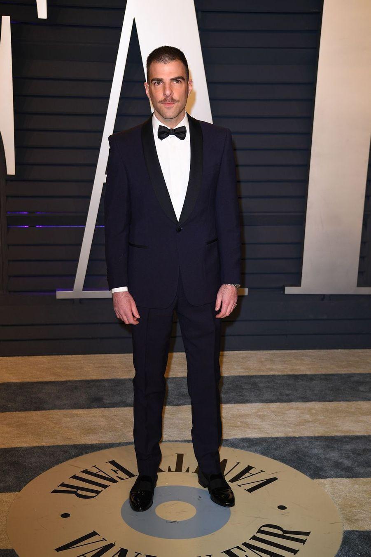 Zachary Quintoà l'after-party des Oscars à Los Angeles le 24 février 2019