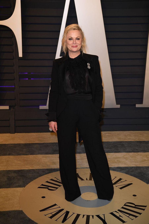 Amy Poehlerà l'after-party des Oscars à Los Angeles le 24 février 2019