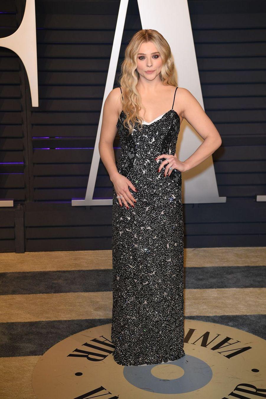 Chloe Grace Mortezà l'after-party des Oscars à Los Angeles le 24 février 2019