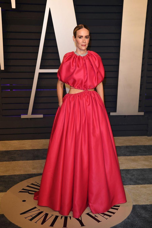 Sarah Paulsonà l'after-party des Oscars à Los Angeles le 24 février 2019