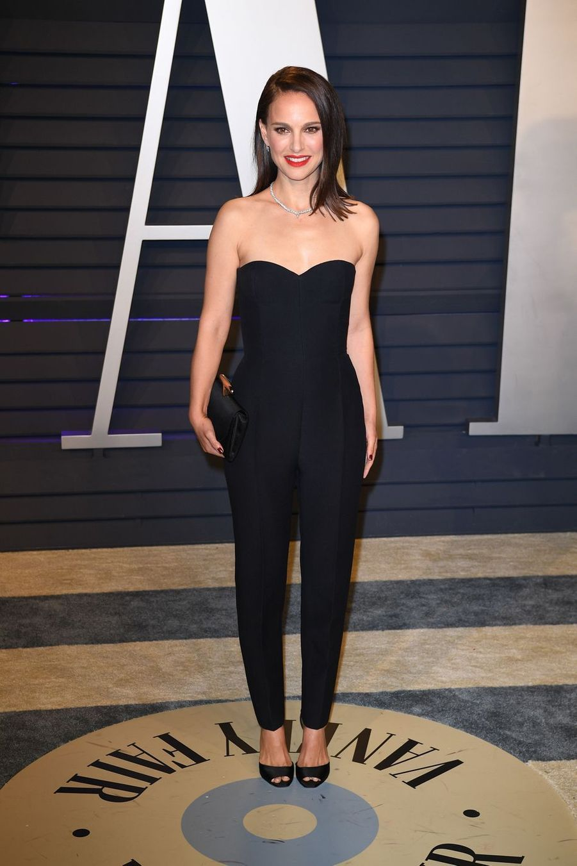 Natalie Portmanà l'after-party des Oscars à Los Angeles le 24 février 2019