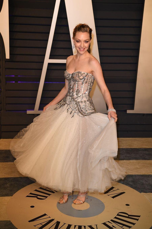 Amanda Seyfriedà l'after-party des Oscars à Los Angeles le 24 février 2019