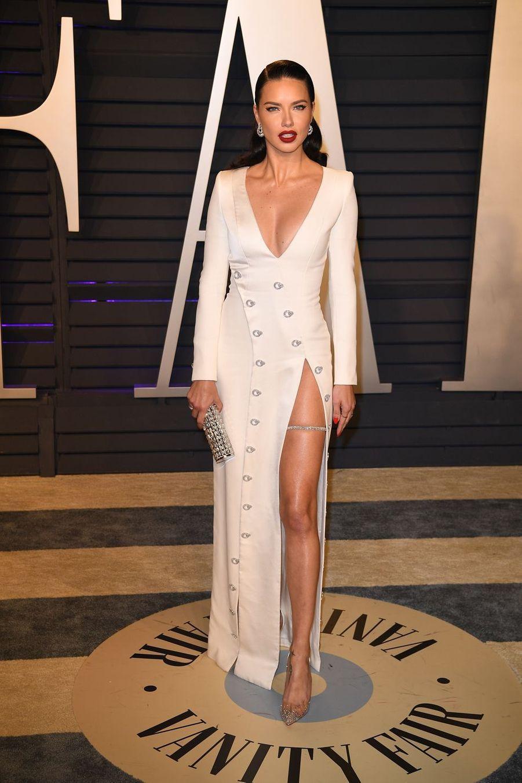 Adriana Limaà l'after-party des Oscars à Los Angeles le 24 février 2019