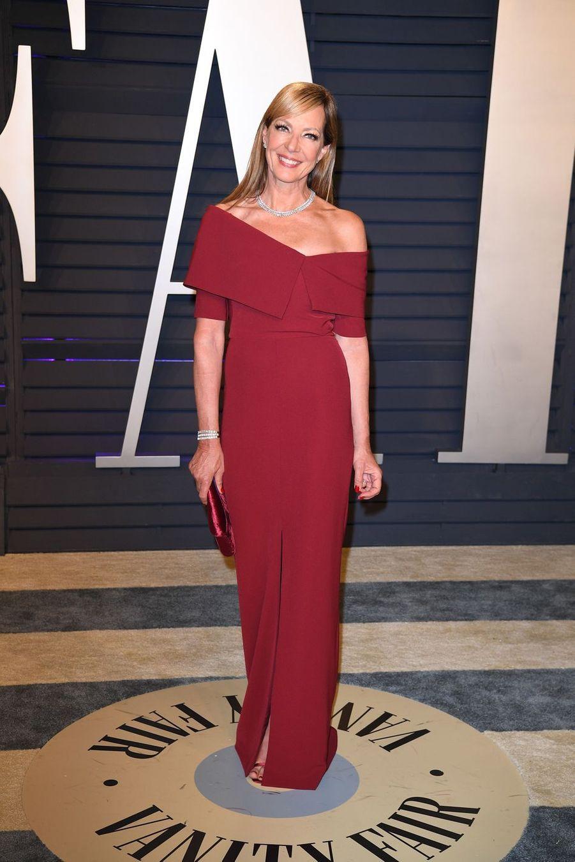 Allison Janneyà l'after-party des Oscars à Los Angeles le 24 février 2019