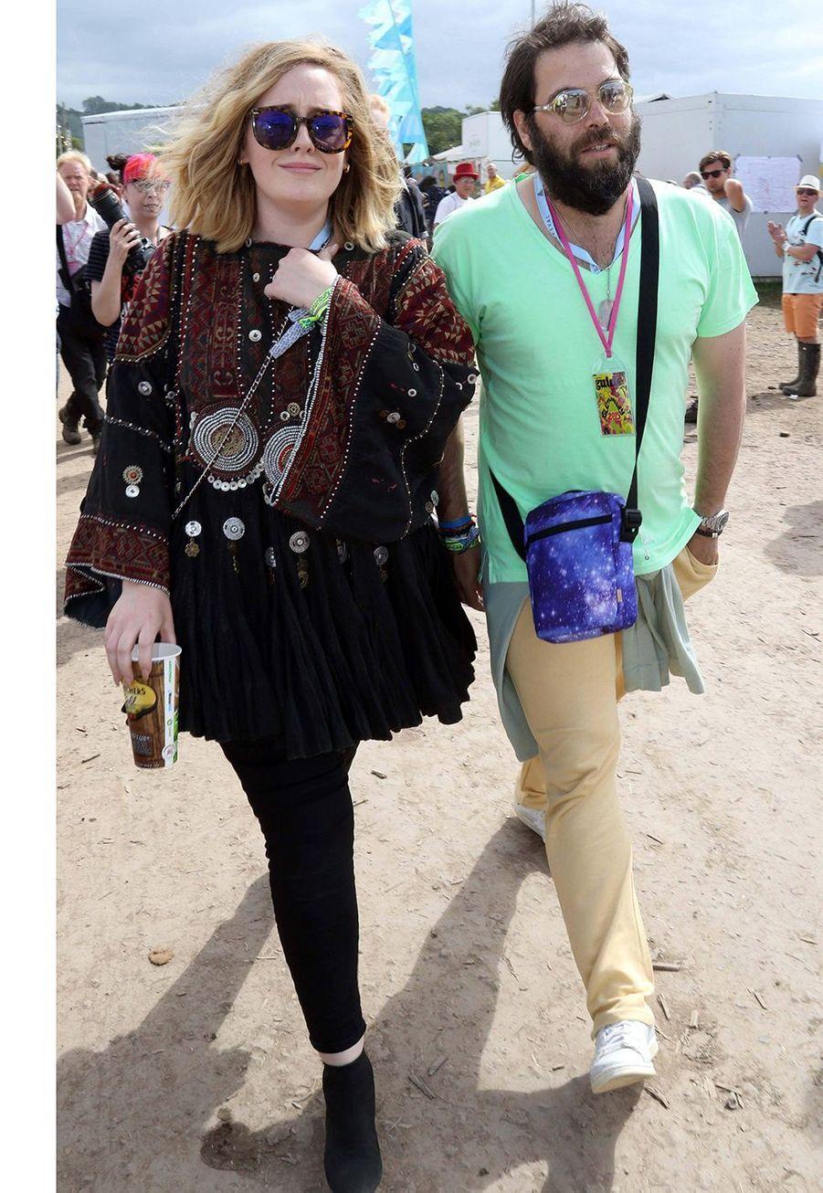 Adele et Simon Konecki ont annoncé leur rupture en avril 2019 après sept années passes ensemble, la naissance de leur fills Angelo en 2012 et un mariage en mars 2017.