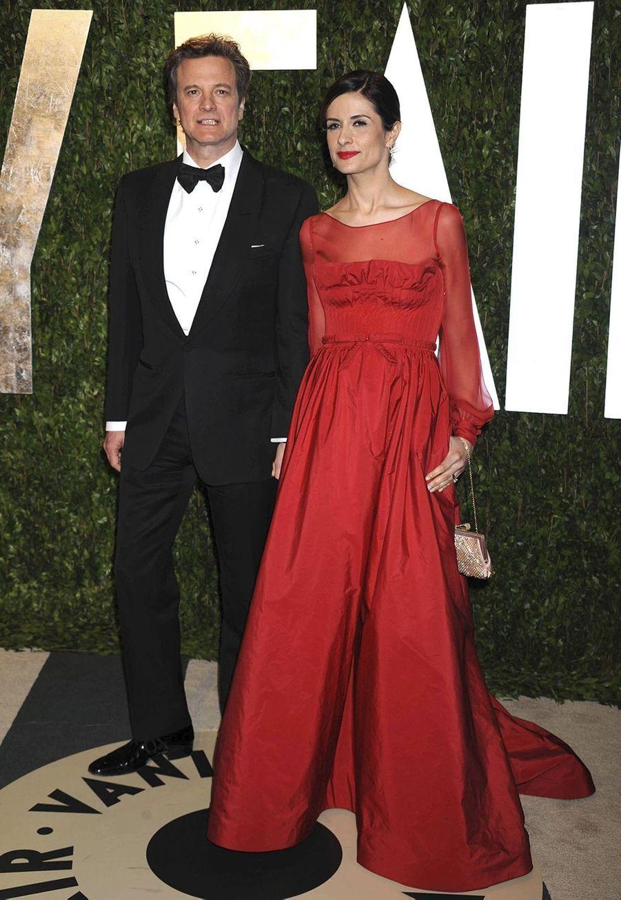 Colin Firth avecLivia Giuggioli ont annoncé leurdivorce après 22 ans de mariage, les naissances de leurs deux fils Luca et Matteo, et une brève séparation en 2015.
