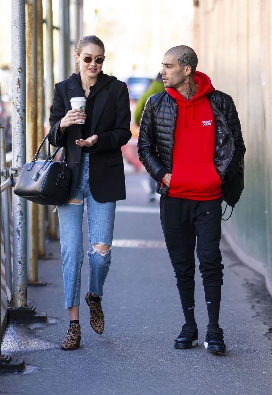Gigi Hadid et Zayn Malik s'étaient remis ensemble lors de l'été 2018, puis se son t de nouveau séparés en janvier 2019.