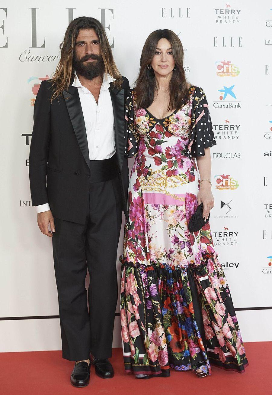 Monica Bellucci et Nicolas Lefebvre étaient en couple depuis deux ans avant de se séparer en juillet 2019.
