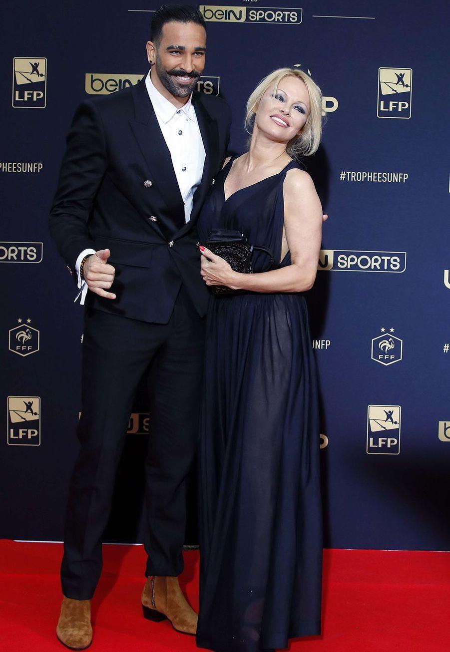 Pamela Anderson et Adil Rami se sont rencontrés en 2017 et ont annoncé leur rupture en juin 2019.