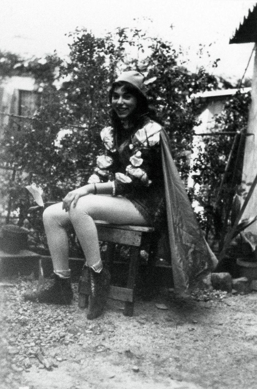 Album de famille de Mireille Darc.