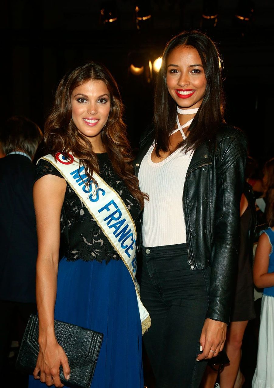 Iris Mittenaere a été élue Miss France 2016, le 19 décembre 2015