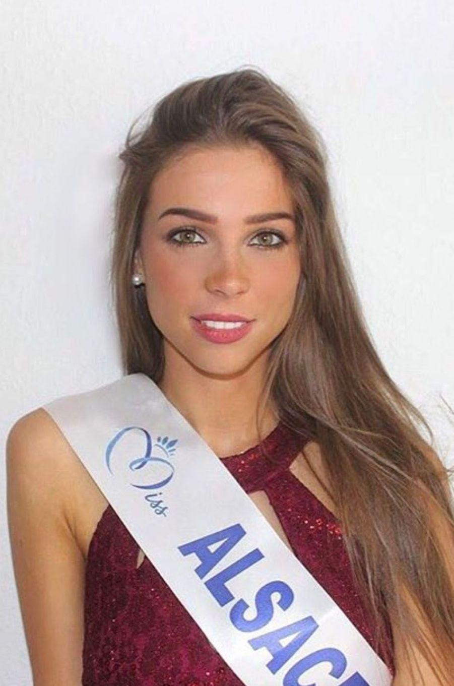 Joséphine Meisberger, Miss Alsace 2017.