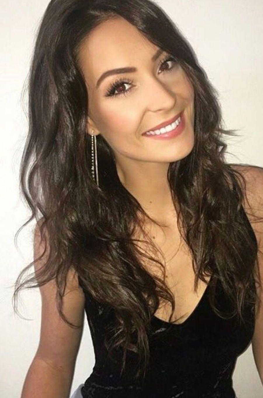 Caroline Lemée, Miss Bretagne 2017.