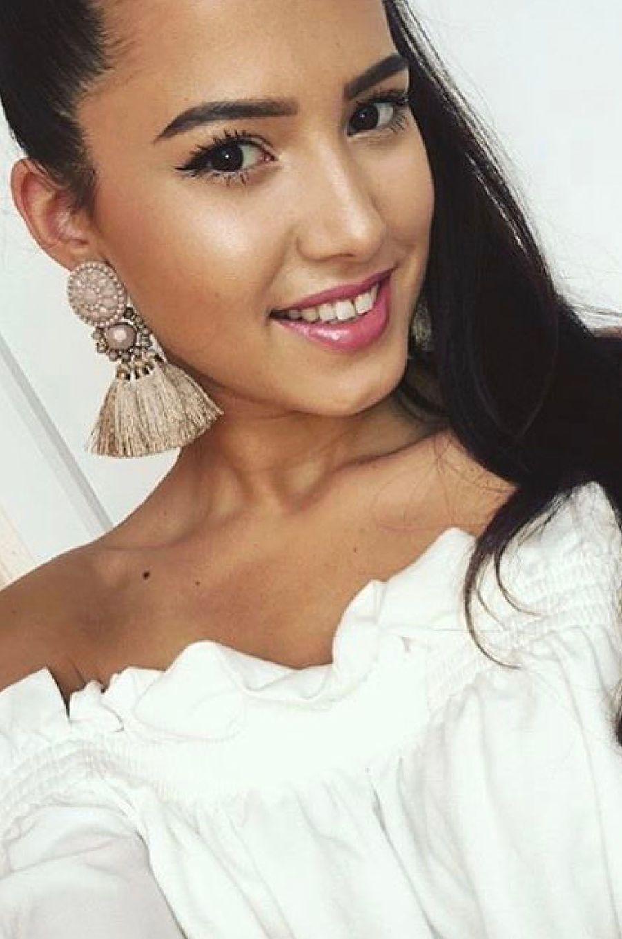 Mathilde Klinguer, Miss Franche-Comté 2017.