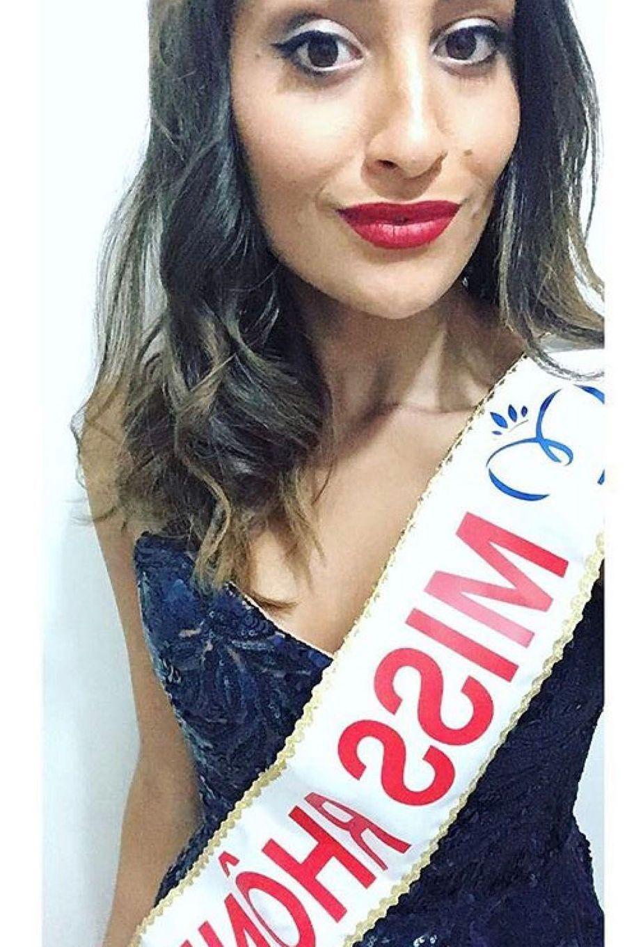 Dalida Benaoudia, Miss Rhône-Alpes 2017.