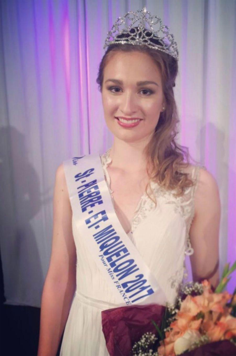 Héloïse Urtizbéréa, Miss Saint-Pierre et Miquelon 2017.