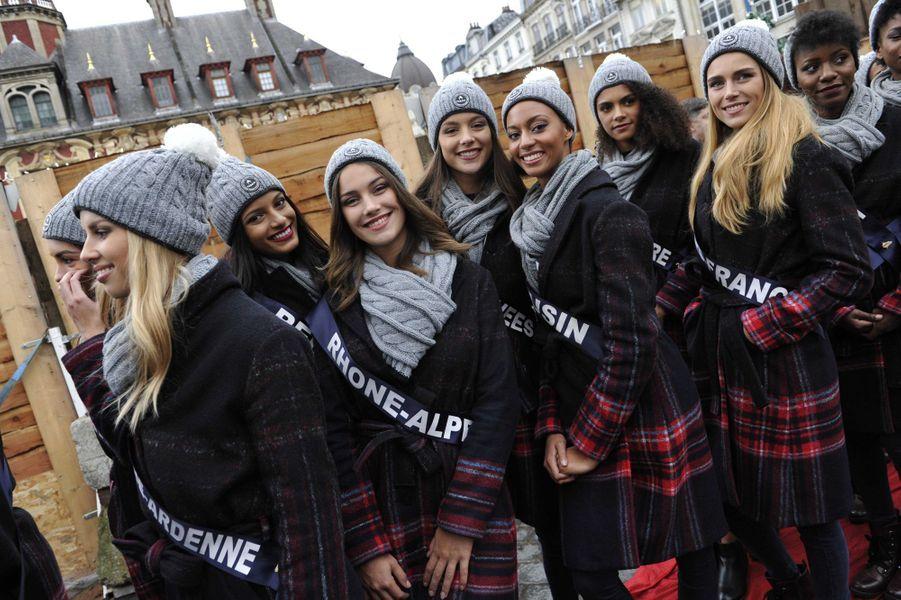 Tout juste rentrées de leur voyage de préparation à l'île Maurice, les candidates au titre de Miss France 2019 ont posé leurs valises à Lille où elles resteront jusqu'à l'élection.