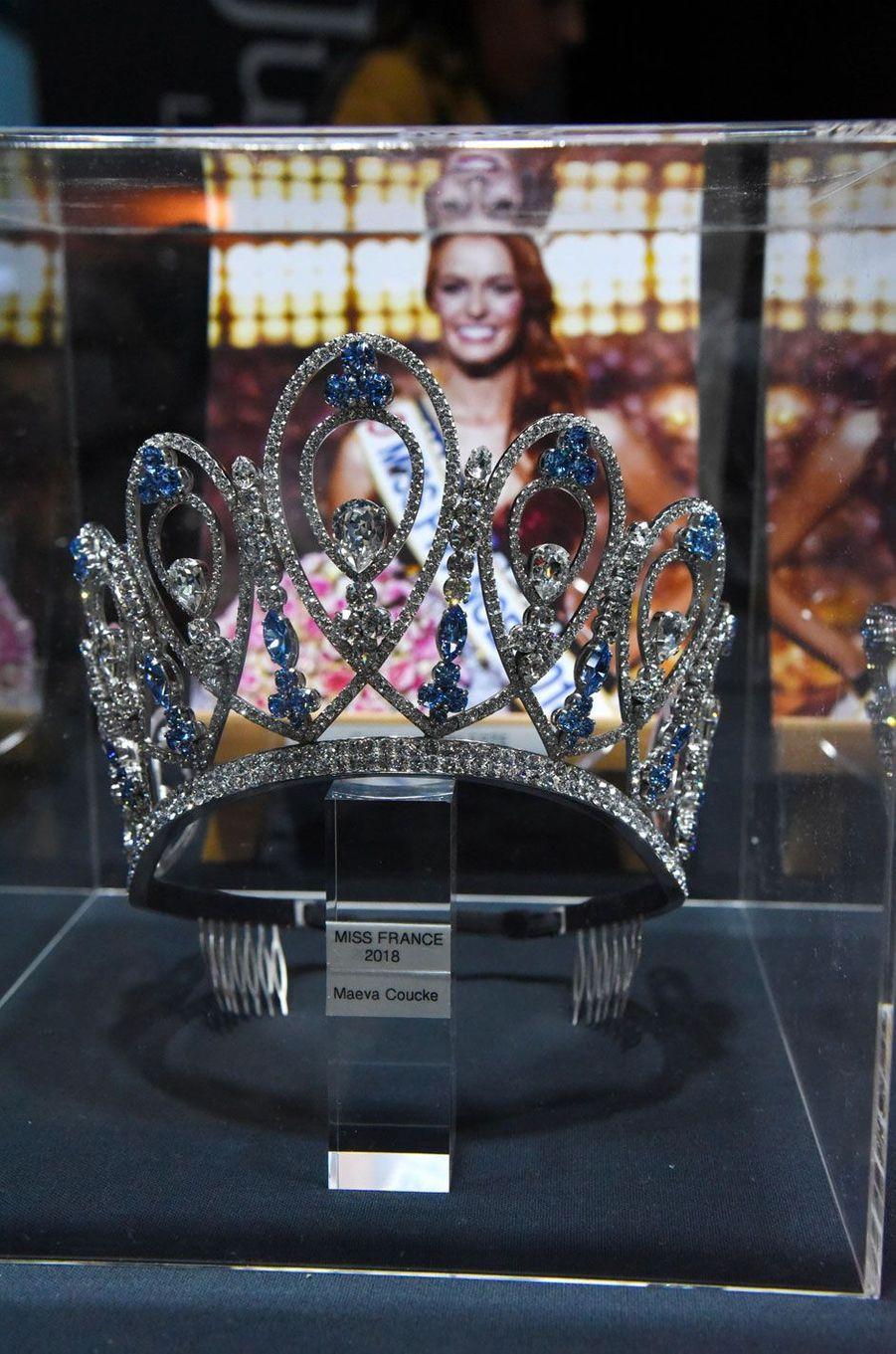 La couronne de Miss France 2018