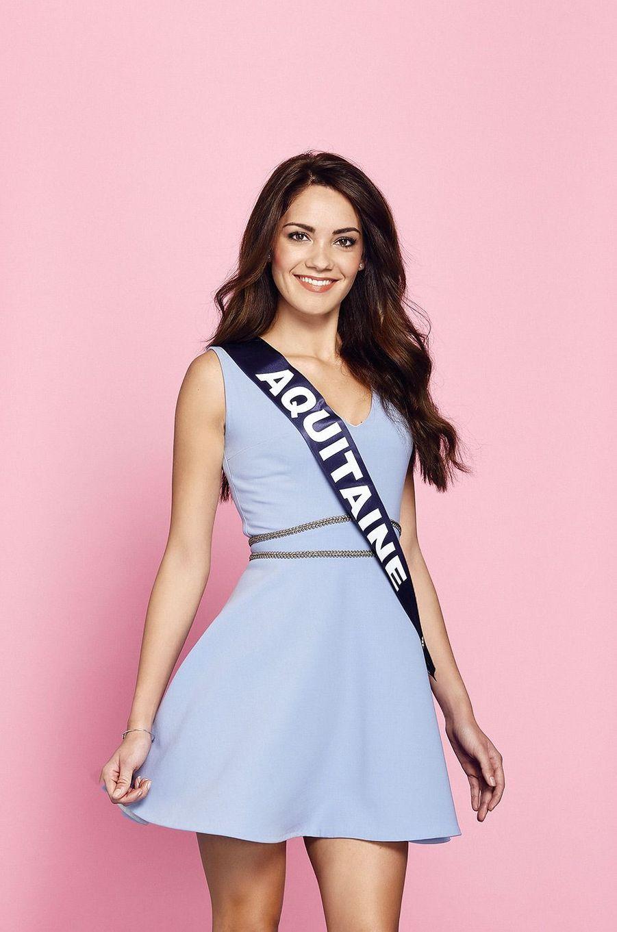 Miss Aquitaine: Carla Bonesso