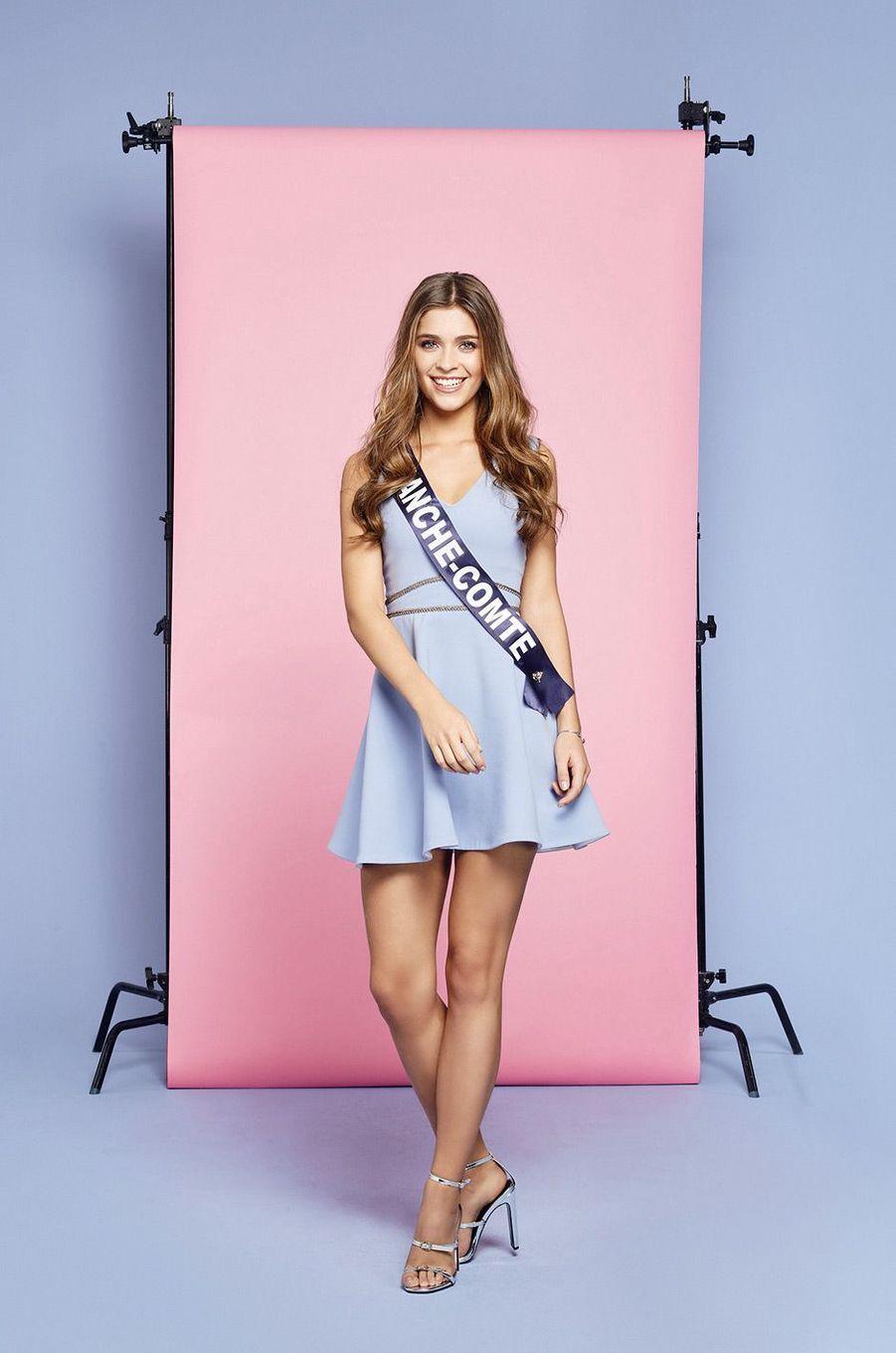 Miss Franche-Comté: Lauralyne Demesmay