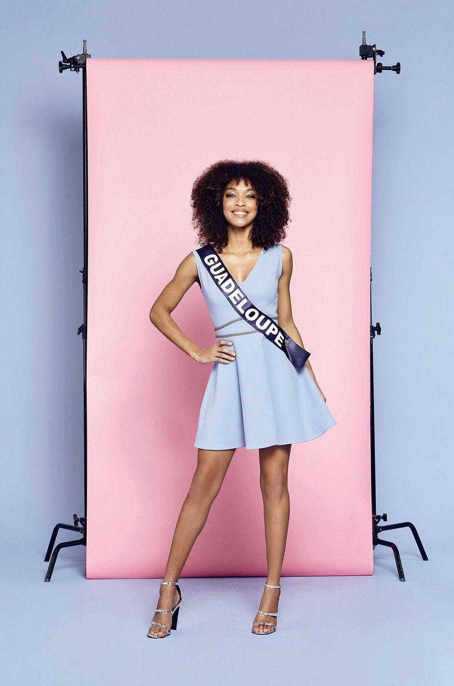 Miss Guadeloupe: Ophély Mézino