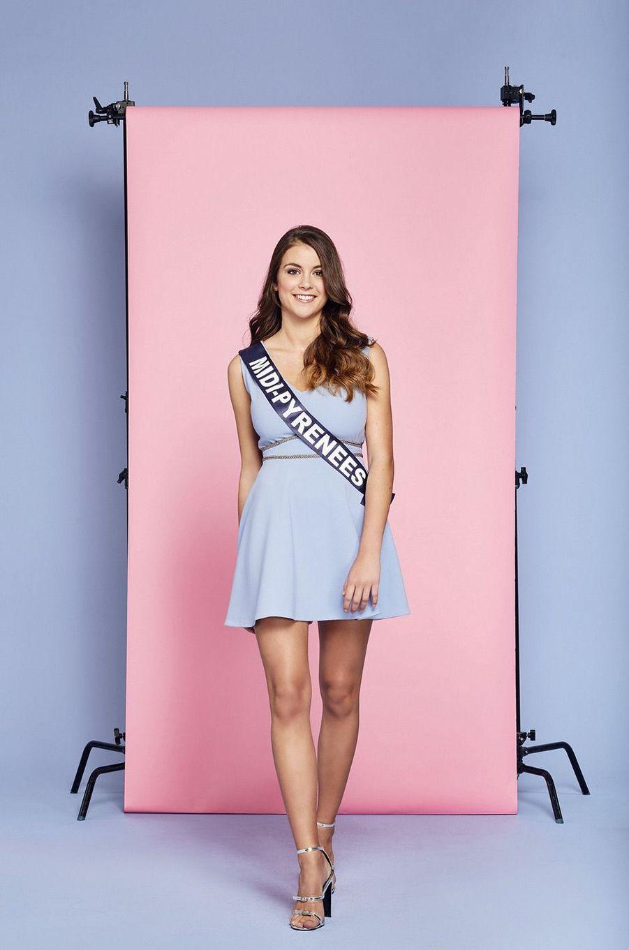 Miss Midi-Pyrénées: Axelle Brielle