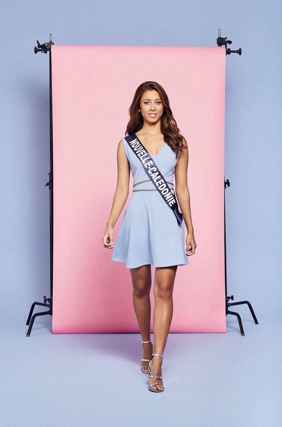 Miss Nouvelle-Calédonie: Amandine Chabrier