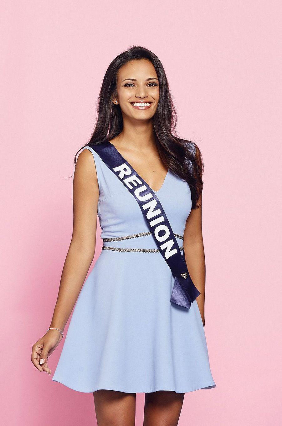 Miss Réunion: Morgane Soucramanien