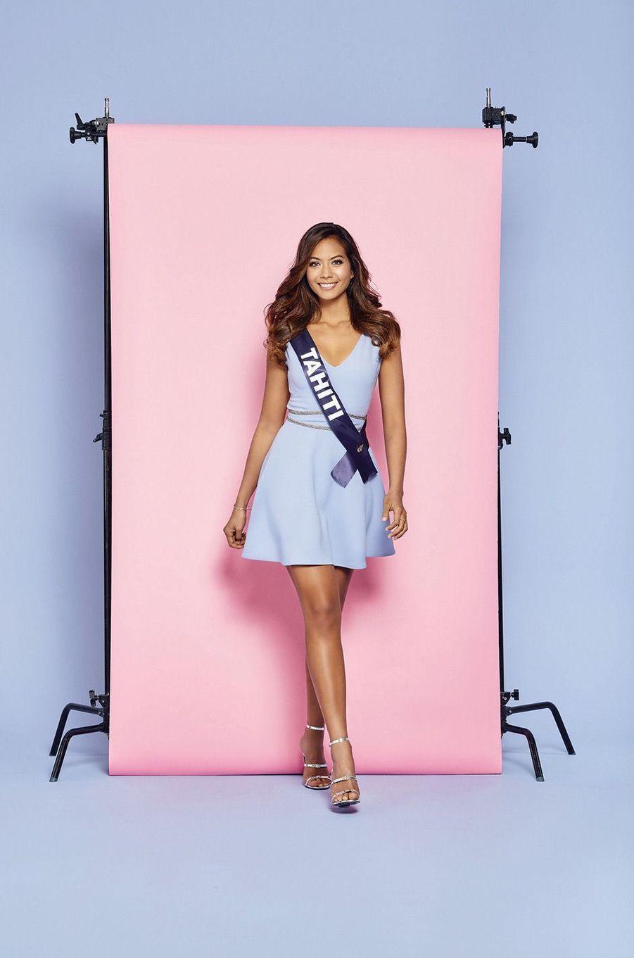 Miss Tahiti: Vaimalama Chaves