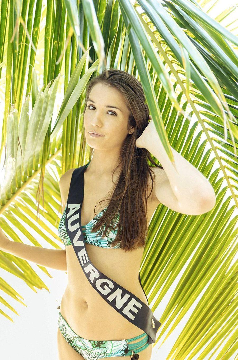 Romane Eichstadt, Miss Auvergne 2018
