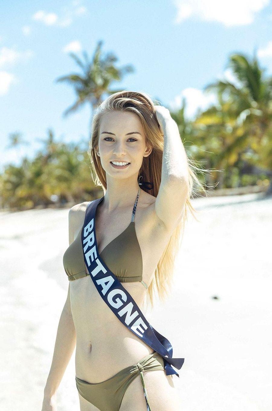 Emilie Bachellereau, Miss Bretagne 2018