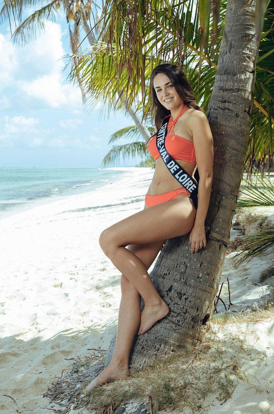 Laurie Derouard , Miss Centre-Val de Loire 2018