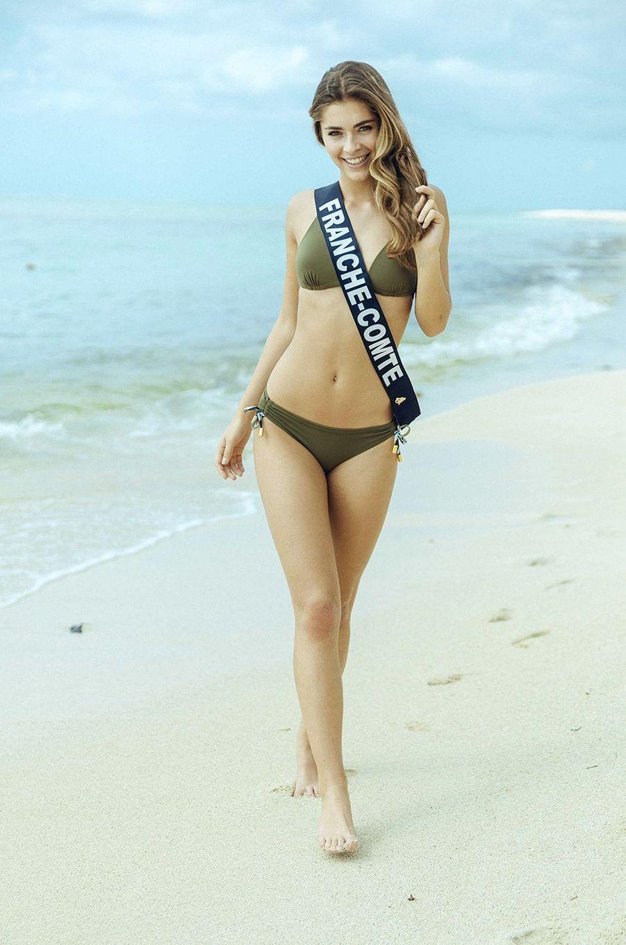 Lauralyne Demesmay,Miss Franche-Comté 2018