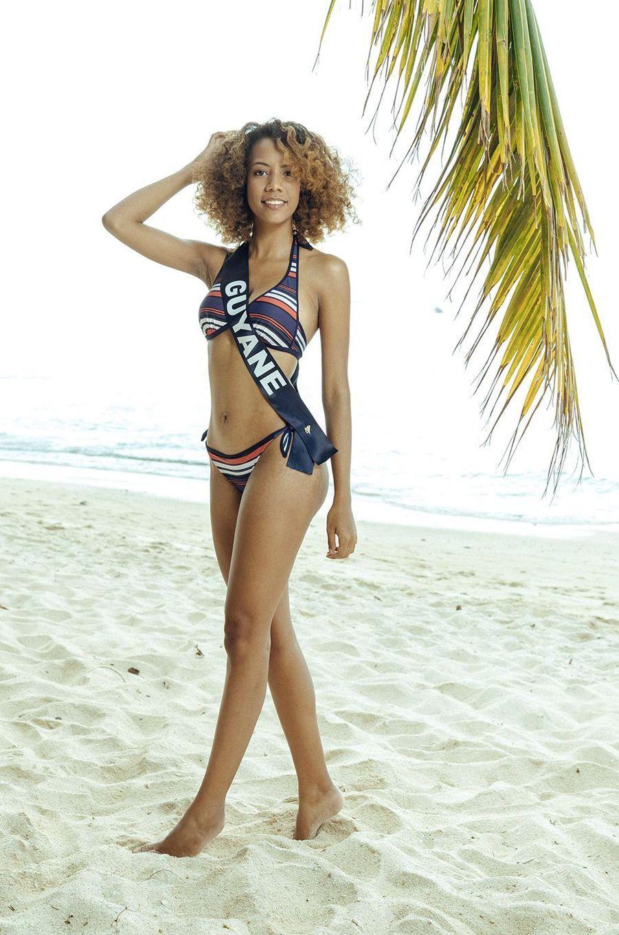Laureline Decocq,Miss Guyane 2018