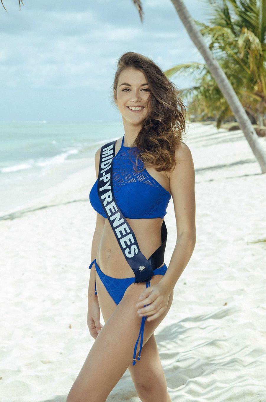 Axelle Breil, Miss Midi-Pyrénées 2018