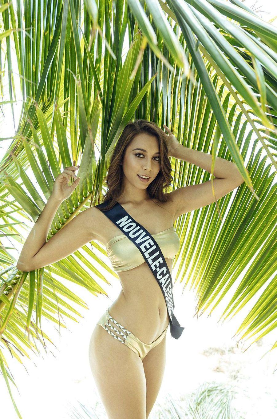 Amandine Chabrier,Miss Nouvelle-Calédonie 2018