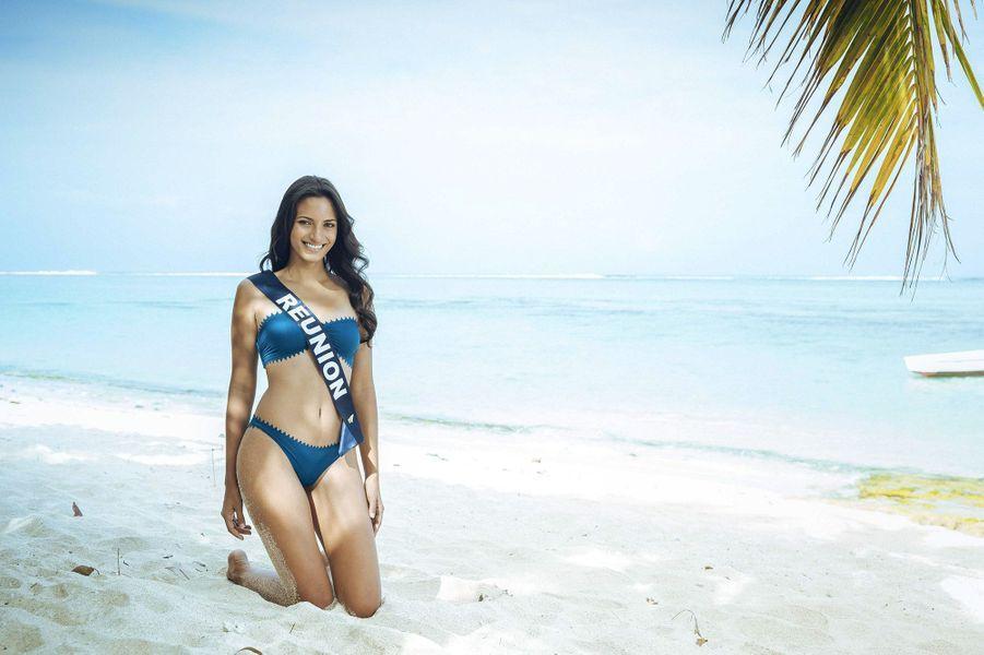 Morgane Soucramanien, Miss Réunion 2018