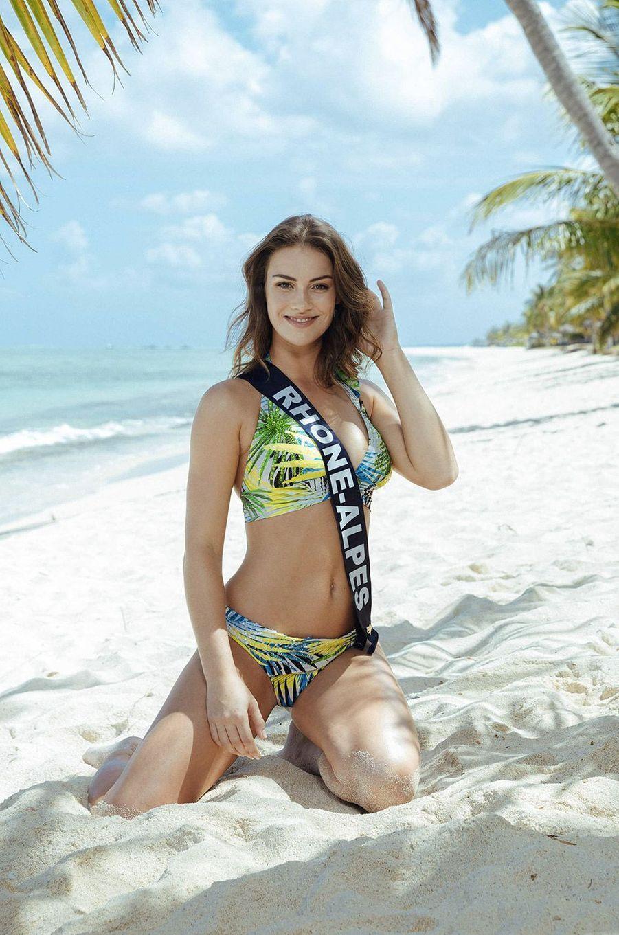 Pauline Ianiro,Miss Rhône-Alpes 2018
