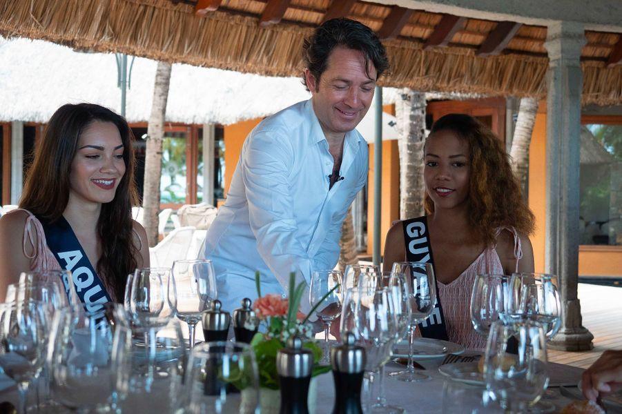 Le cours de bonnes manières des candidates du concours Miss France