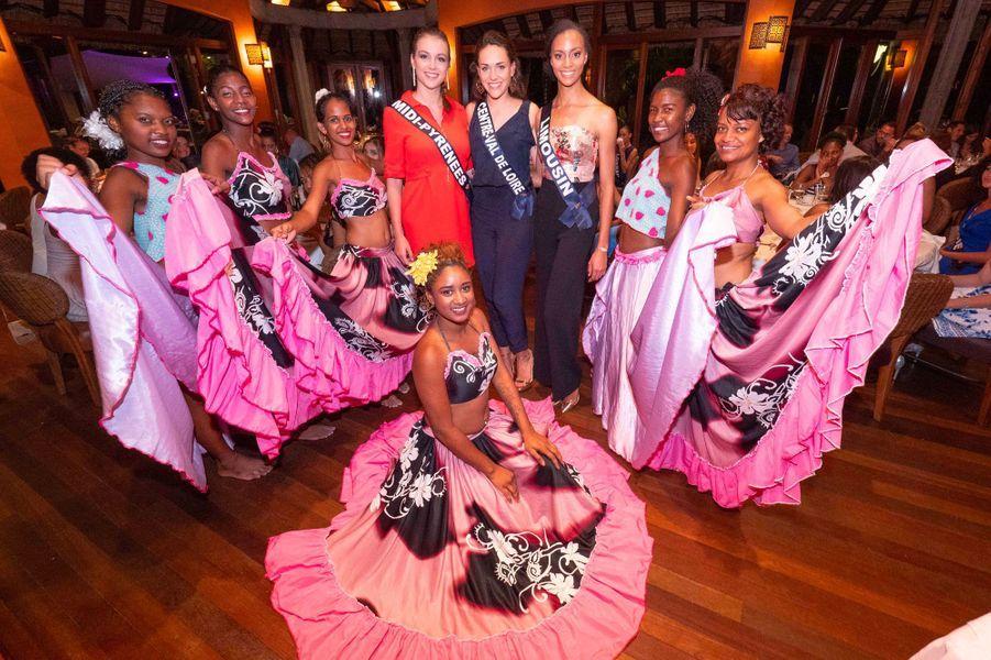 Axelle Breil, Miss Midi-Pyrénées, Aude Destour, Miss Limousin, et Laurie Derouard, Miss Centre Val-de-Loire, obtiennent les meilleures notes.