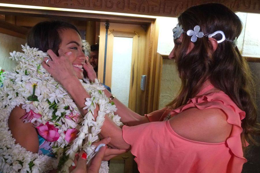 Vaimalama Chaves et Maréva Georges à Tahiti jeudi 20 décembre 2018