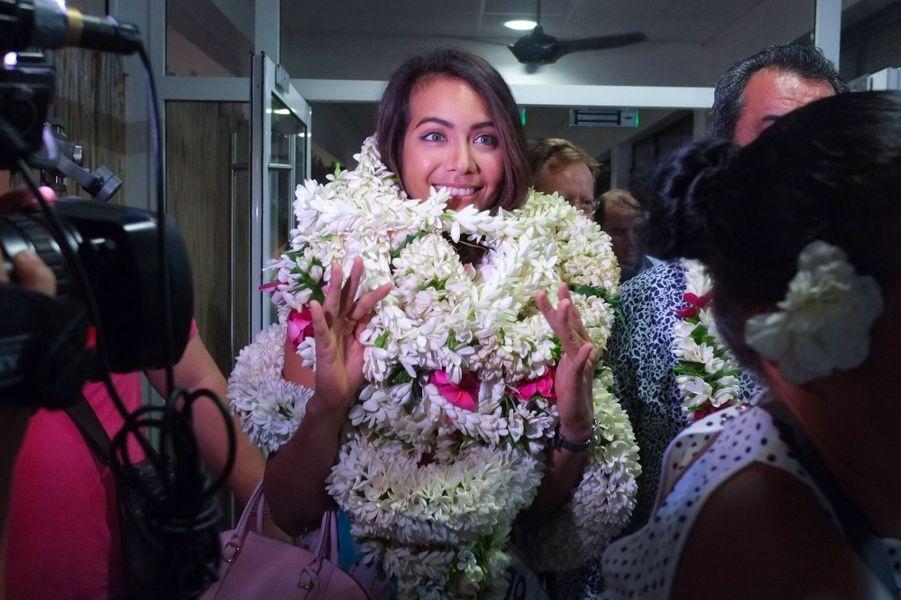 Vaimalama Chaves à Tahiti jeudi 20 décembre 2018