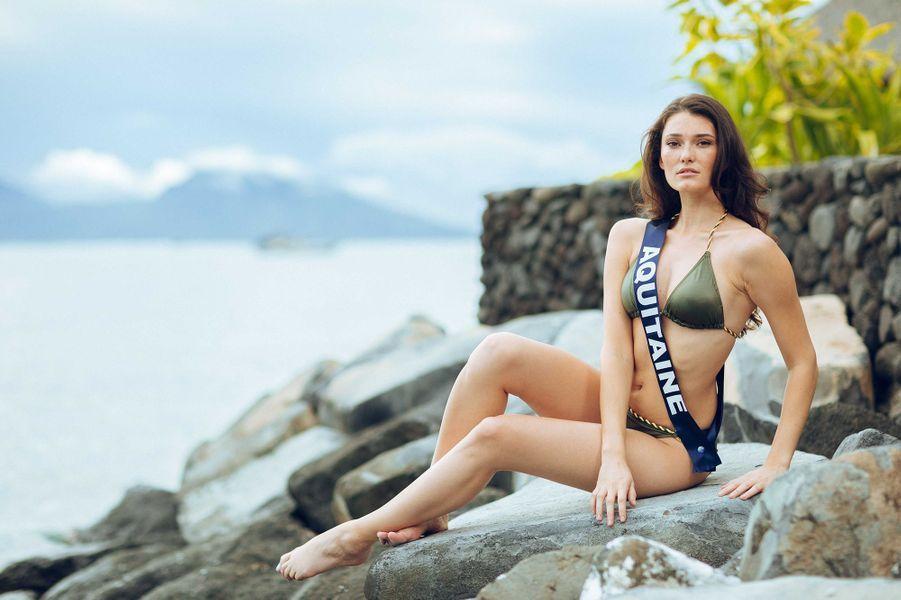 Miss Aquitaine, Justine Delmas, 21 ans, 1m76