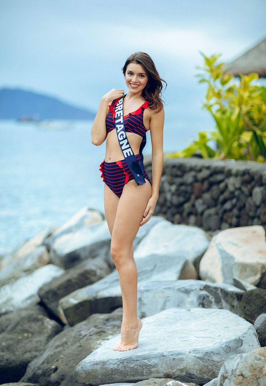 Miss Bretagne, Romane Edern, 24 ans, 1m73