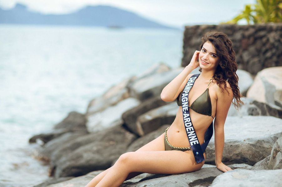 Miss Champagne-Ardenne, Lucille Moine,18 ans, 1m73