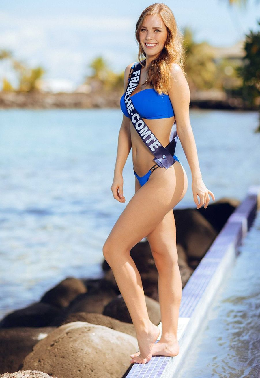 Miss Franche-Comté, Solène Bernardin, 23 ans, 1m76