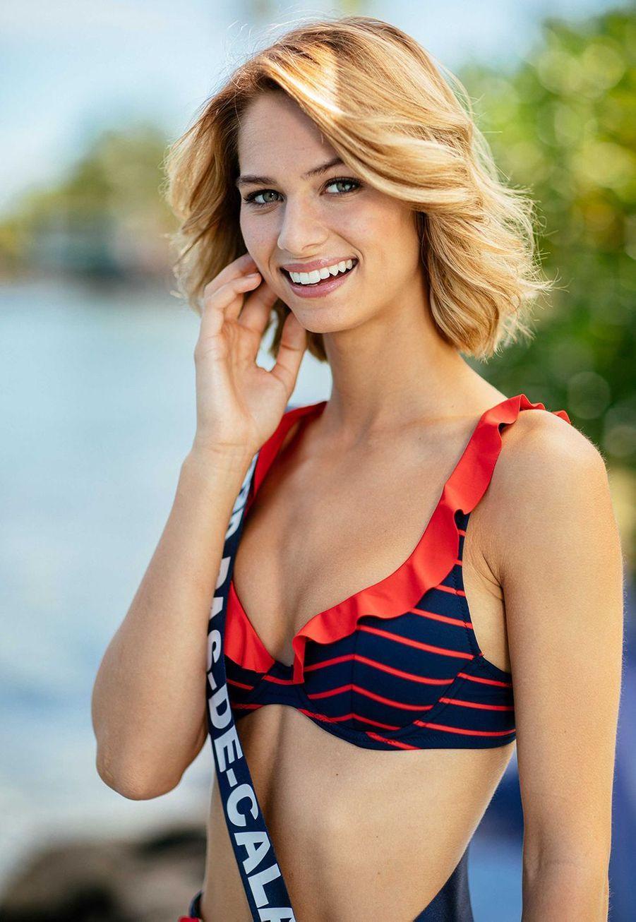 Miss Nord-Pas-de-Calais, Florentine Somers, 19 ans, 1m77