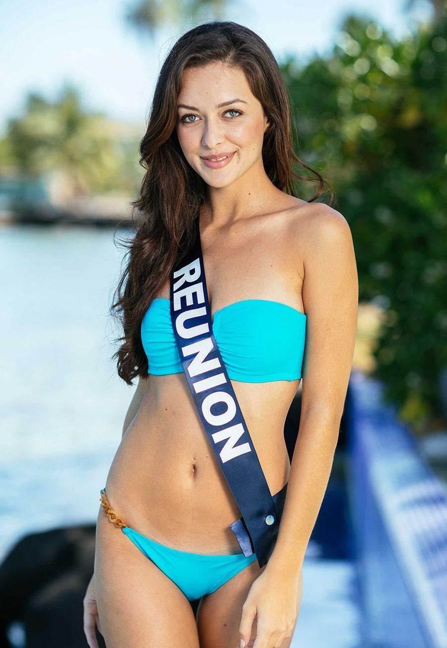 Miss Réunion,Morgane Lebon,20 ans, 1m76